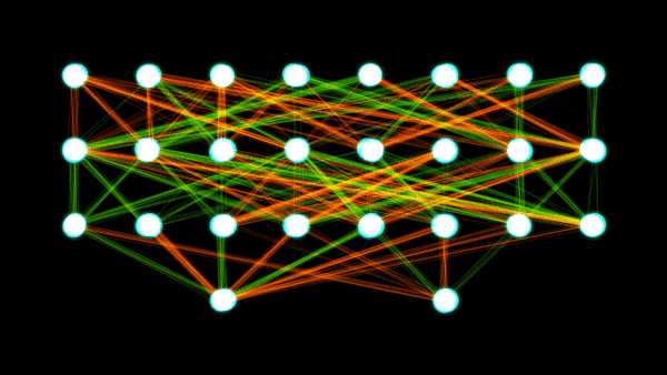 Artifical Neural Network (image credit Wikipedia)