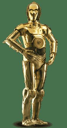 C 3PO (image credit Wikipedia)