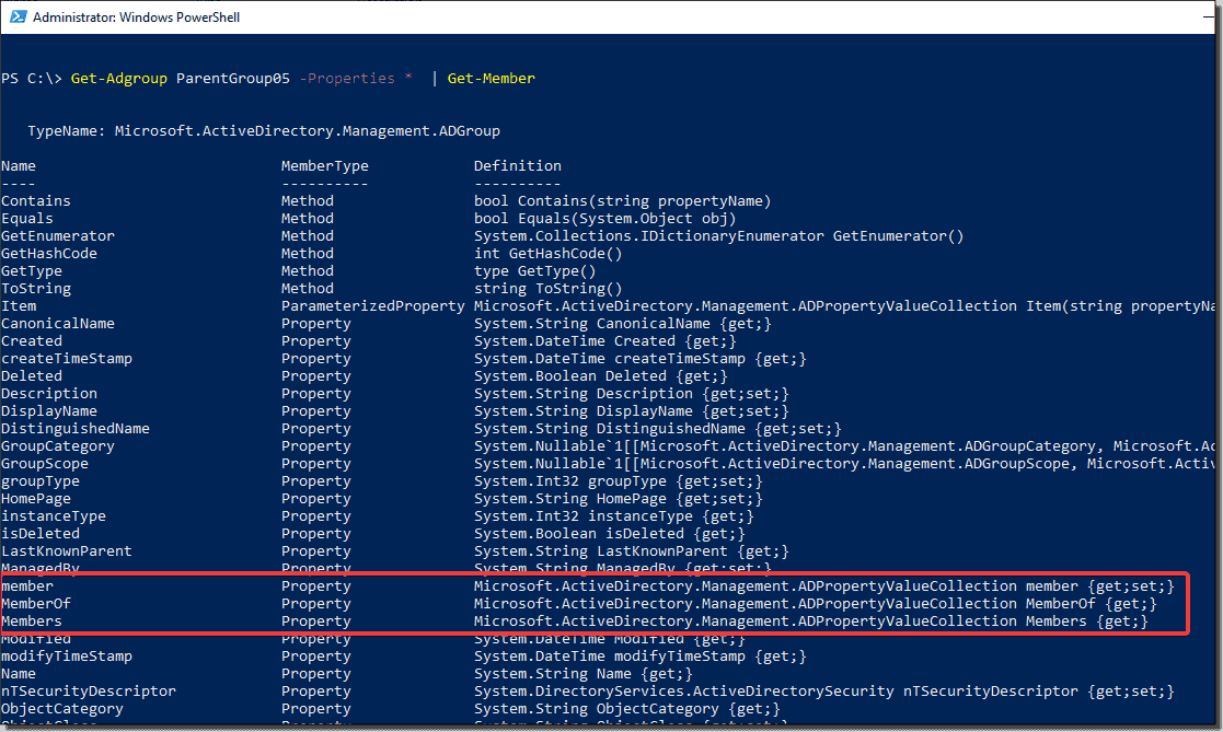 Finding nested Active Directory groups faster with PowerShell