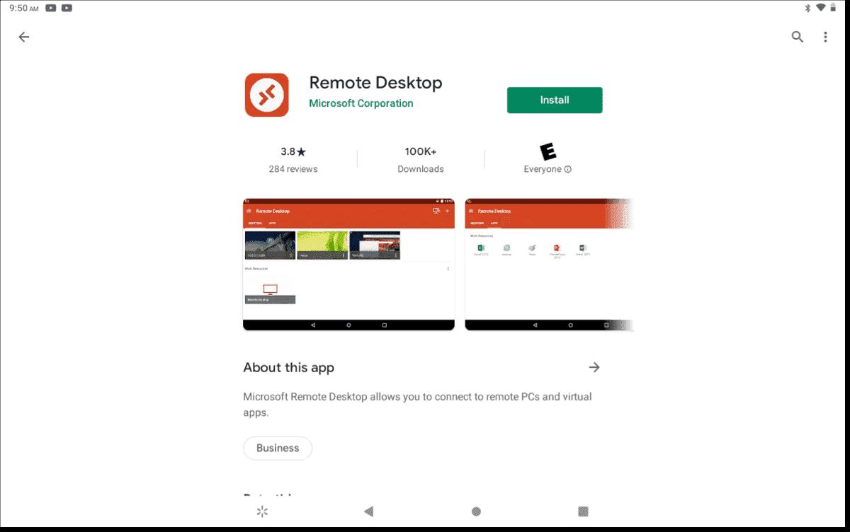 Android Remote Desktop