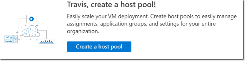 Create a host pool