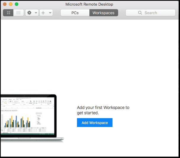 Mac Add a Workspac