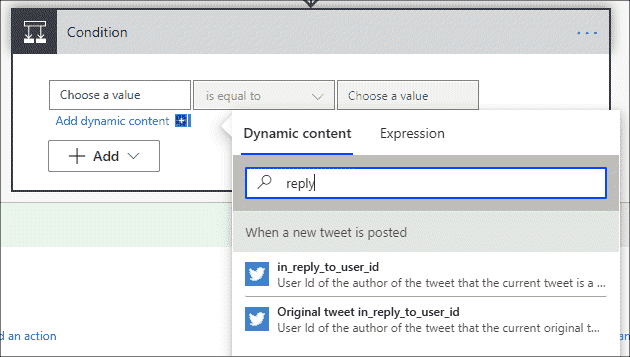 Search dynamic content