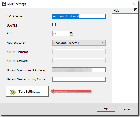 Sending a test email from your domain controller