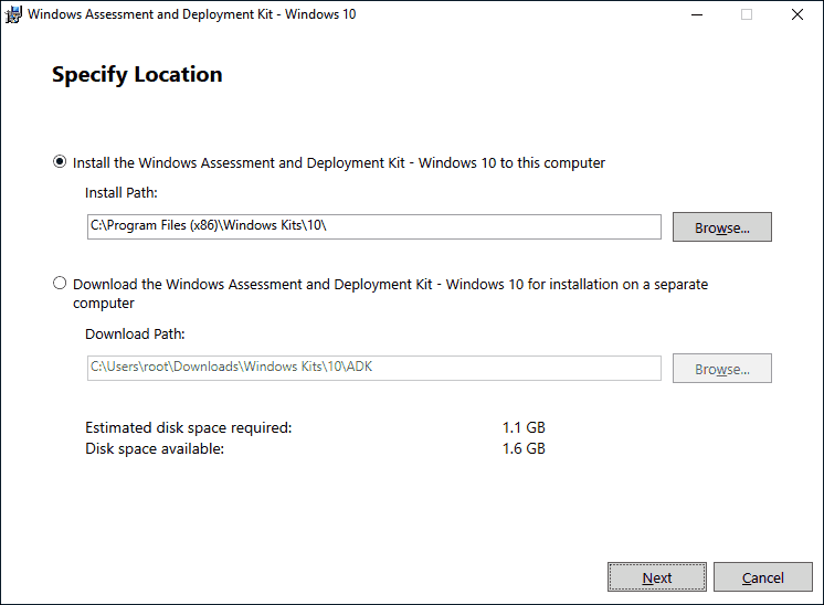 The ADK and WinPE for Windows 10 2004 can also be used for 20H2
