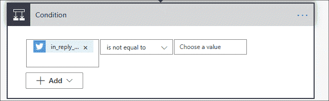 Value is not equal to