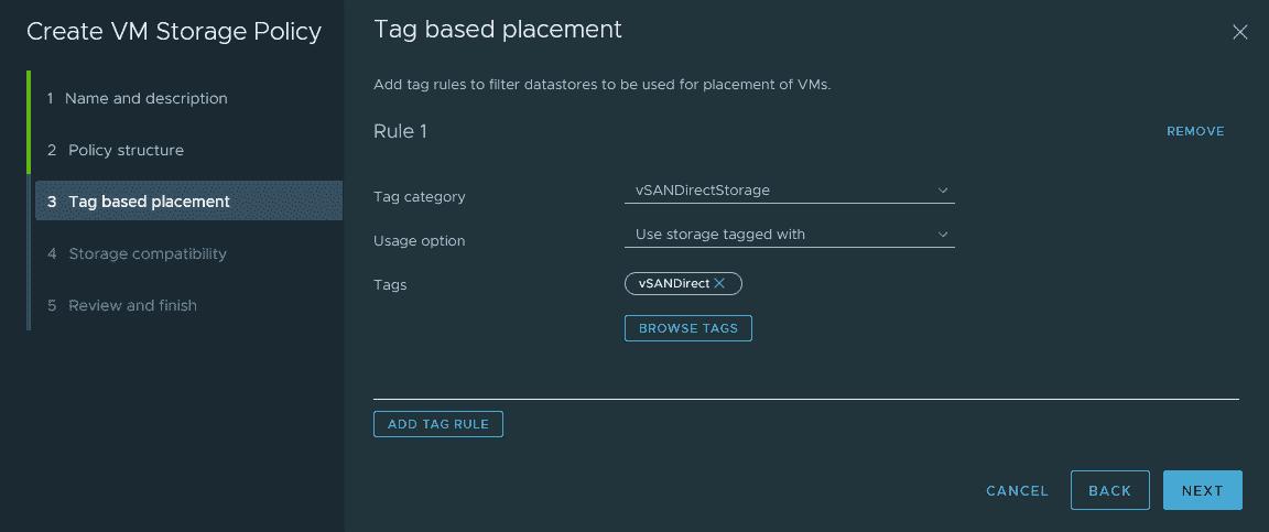 Add a tag based usage option like this