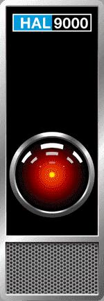 HAL9000 in Arthur C. Clarkes Space Odyssey