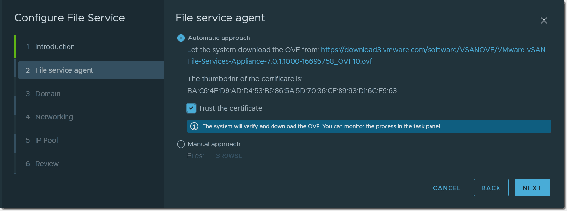Online and offline options for deployment of agents