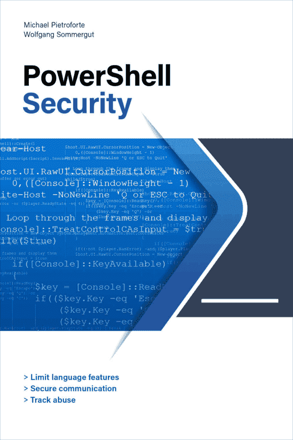PowerShell Security Book
