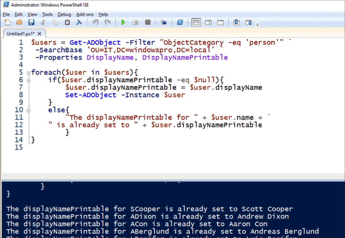Change or copy (multivalued) Active Directory attributes with PowerShell