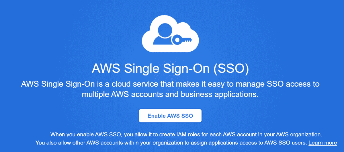 Enabling AWS SSO with Azure AD