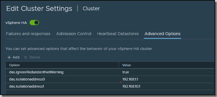 Different IP addresses to test host isolation