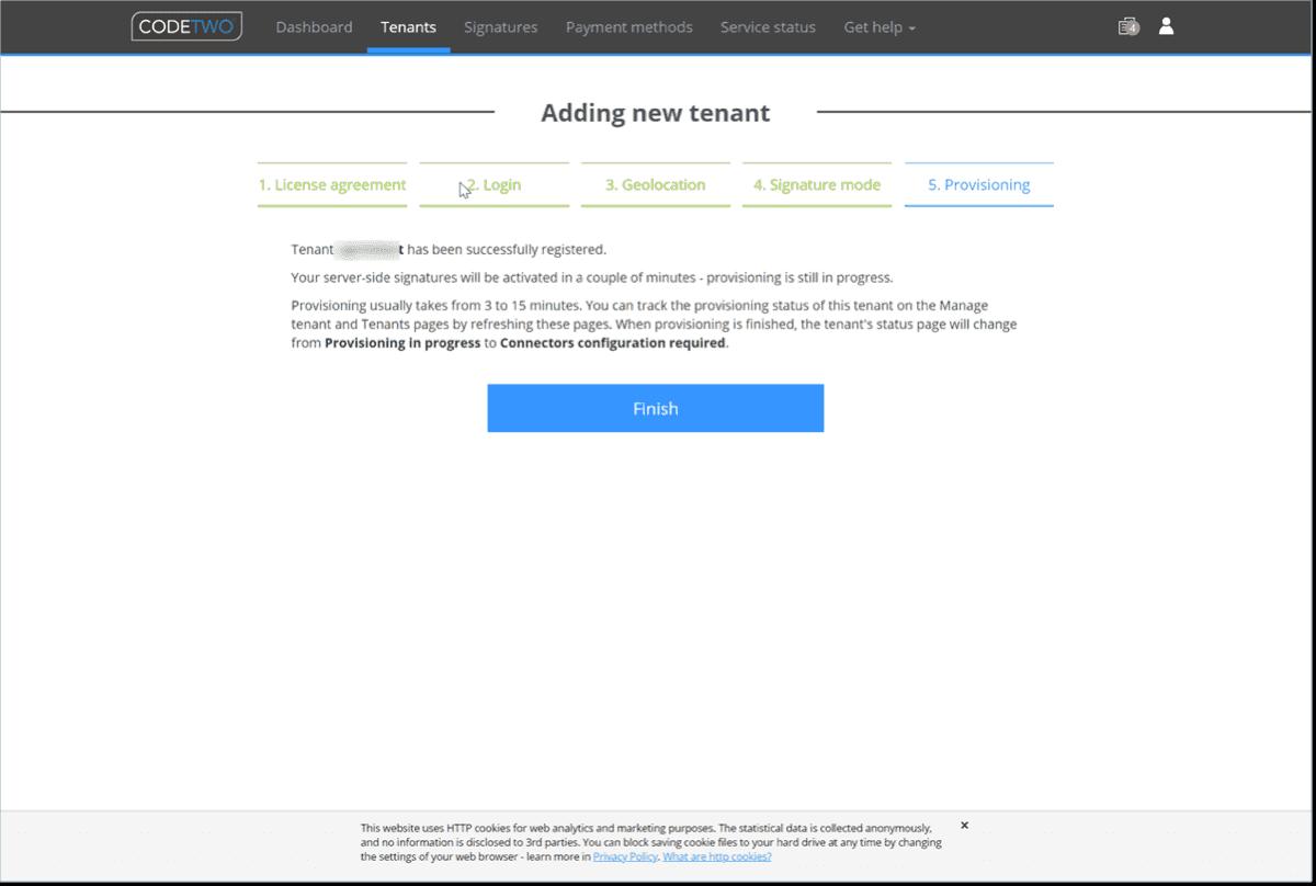 Finish provisioning your Microsoft 365 tenant