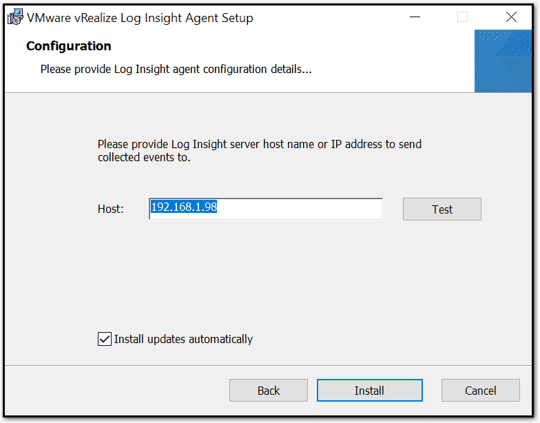 Install the agent on a Windows Server