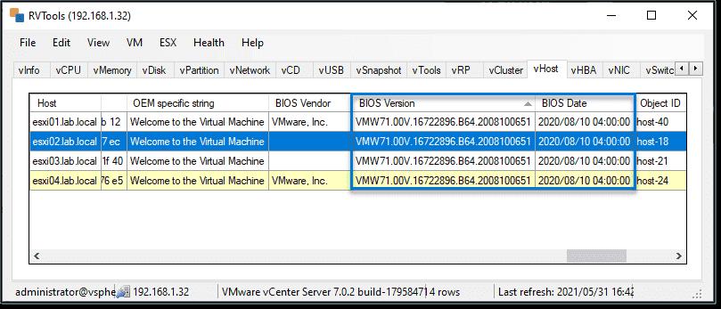 RVTools freeware