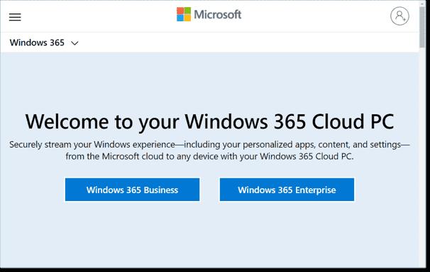 Choose between Windows 365 Cloud PC Business and Enterprise