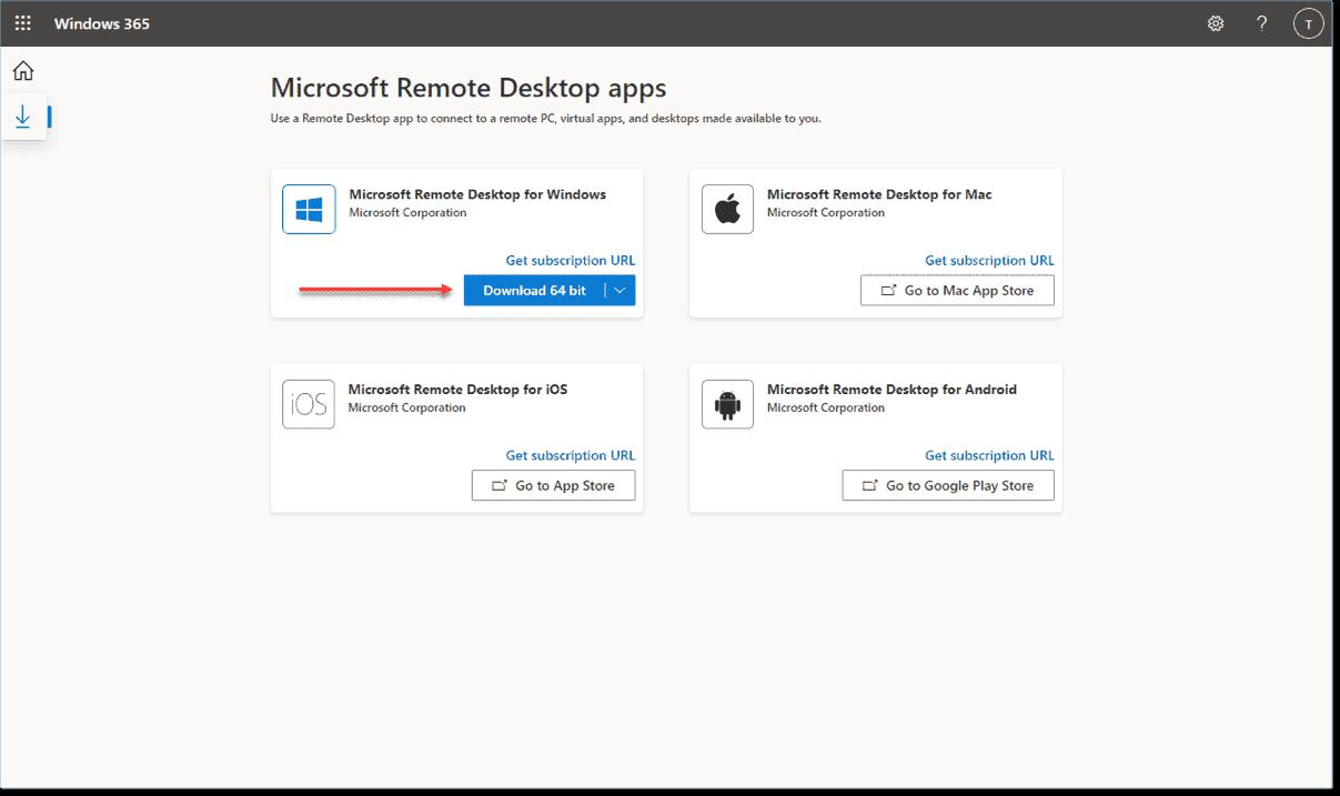 Microsoft Remote Desktop Apps