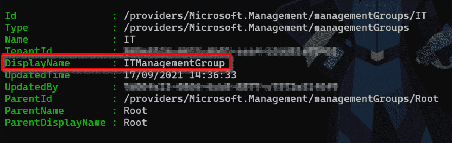 Moving and renaming management groups