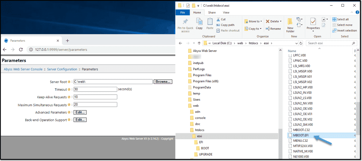 Rename the bootx64.efi to mboot.efi and place it in this directory