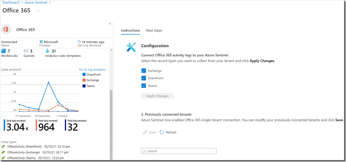 Office 365 Connector