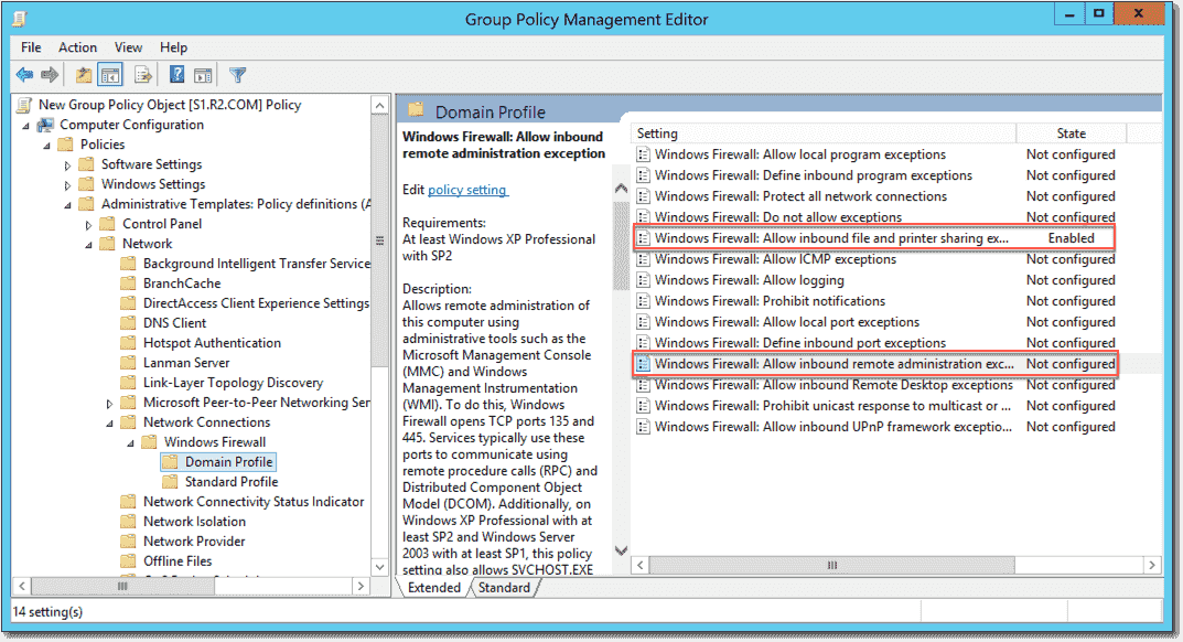 how to turn off windows firewall controlled by group policy